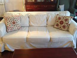 How To Make A Slipcover For A Couch Living Room Sofabackcushion Slipcovers For Sofas With Cushions