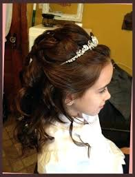 cute hairstyles for first communion unique st communion hairstyles for long hair hairstyles communion