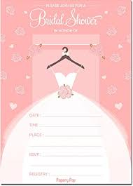 bridal shower invitation 30 bridal shower invitations with envelopes wedding