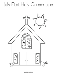 my communion my holy communion coloring page twisty noodle