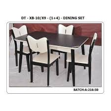 modular dining table and chairs wooden modular dining table set rs 7500 set waseem steel