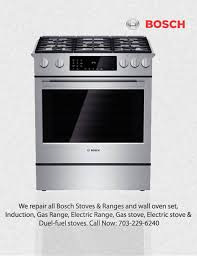 Bosch Cooktop Bosch Appliance Repair Techs In Northern Va Maryland U0026 D C