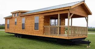 400sqft oak log cabin on wheels with must see interior at a