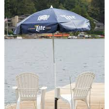 Vinyl Patio Umbrella Miller Lite Vinyl Patio Umbrella 6 Heininger 1228 Instant