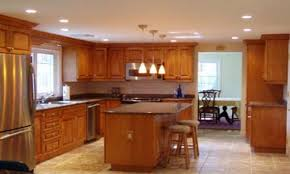 Recessed Lighting Ideas For Kitchen Kitchen Lighting Can Lights In Bell Cream Scandinavian Bamboo