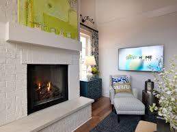 small painted brick fireplace u2014 paint inspirationpaint inspiration