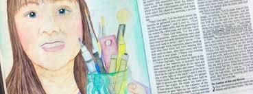 Challenge Tutorial Inktense Pencils Tutorial Bible Journaling Challenge Week 17