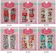 aliexpress com buy 1 sheet art nail sticker mickey mouse nail