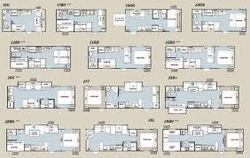 5th wheel rv floor plans bunkhouse rv floor plans