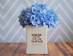 personalized vase housewarming gift wedding gift or client