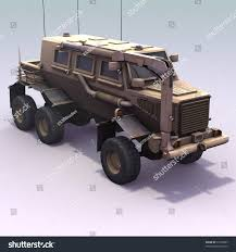 mrap 3d render us army buffalo mrap stock illustration 37270897