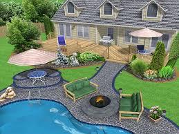home decor stunning cheap backyard ideas patio landscaping