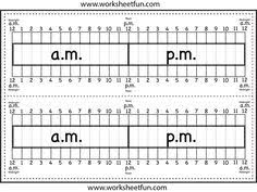 14 best images of am pm clock worksheets elapsed time ruler