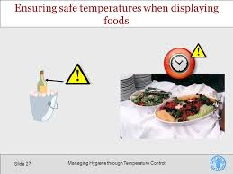hygiene cuisine hygiene practices managing hygiene through temperature