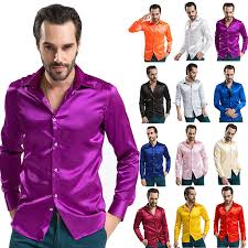 turmec purple long sleeve dress shirts for men