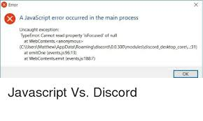 discord javascript error 9gag devel switch to javascript entirely enough with shockwave flash