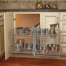 Corner Kitchen Cabinet Rev A Shelf Kitchen Blind Corner Cabinet Optimizer Maximizes