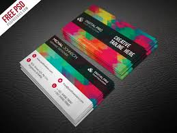 business card template free free business card templates by