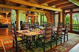beautiful log home interiors designing a beautiful log home dining space