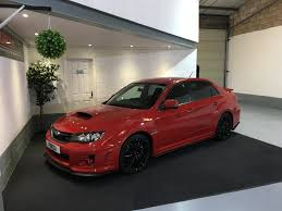 used 2012 subaru impreza sti type uk for sale in warwickshire