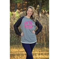 monogrammed high low tunic sweatshirt