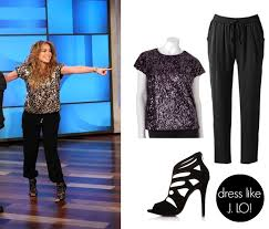 spotted in her kohl u0027s collection dress like jennifer lopez this