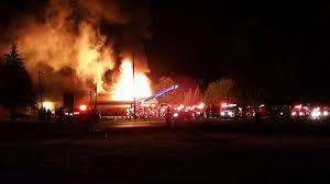 Barn Fires No Injuries Reported In Large Van Buren County Barn Fire Fox17