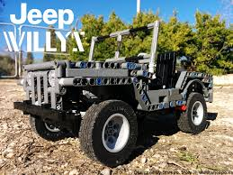 lego toyota 4runner lego willys jeep