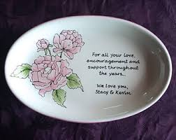 painted wedding plates personalized painted earthenware gifts for all by brushstrokeplates