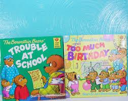 Berenstein Bears Books Berenstein Bears Etsy