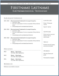 resume templates 2015 free download resume free microsoft word resume template