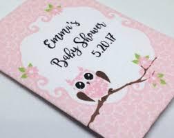 owl baby shower favors owl baby shower etsy