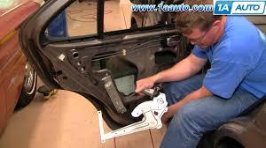 nissan armada window regulator how to install replace rear power window regulator nissan sentra