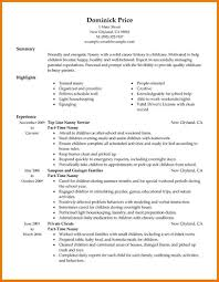 cover letter examples for nanny position nanny cover letter