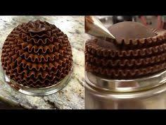 video release how to make stenciled chocolate dessert cups by