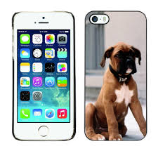 100 boxer dog boxer breed dog mobile phone protective case cover for iphone 5s