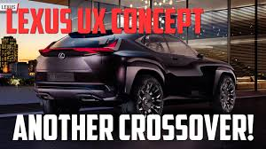 lexus cardboard sedan lexus ux concept represents a bold crossover future autoblog