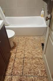 Rotten Bathroom Floor - room for tuesday the bathroom one room challenge u2013 week 2