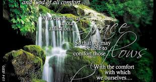 May The God Of All Comfort Barefoot Christian And Crunchy Understanding God Will Be My