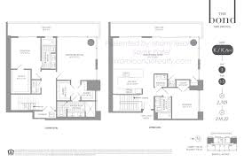 Midtown Residences Floor Plan by The Bond On Brickell Condos For Sale 1080 Brickell Avenue Condos