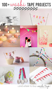 100 washi tapes project ideas and where to buy washi tape