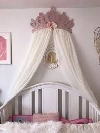 Crown Bed Canopy Crib Canopy Bed Crown Nursery Wall Crown By Acreativecottage