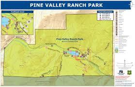 Buffalo Creek Trail Map Pine Valley Ranch Park Jefferson County Co