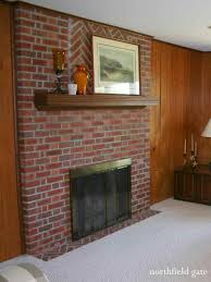 old brick fireplace makeover wpyninfo