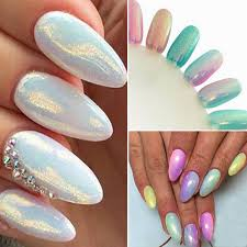 ch shinning nail art mirror powder chrome pigment glitters