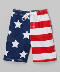 American Flag Plus Size Shorts Kanu Surf Red American Flag Patriot Boardshorts Infant Toddler