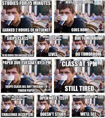 College Senior Meme - lazy college senior meme