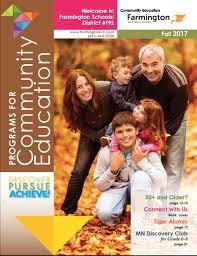 community education farmington area public schools