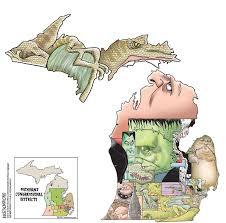 Owosso Mi Map Mike Thompson U0027s Gerrymonstered Michigan U0027s Gerrymandered Voting