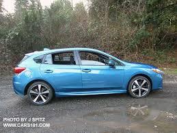 2017 subaru impreza sedan blue 2017 impreza subaru specs options prices dimensions measurements